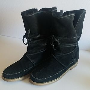 Jack Rogers Little Nell Moccasin Boots